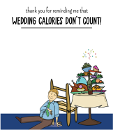 Wedding Calories Man