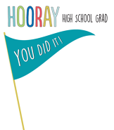 You did it banner