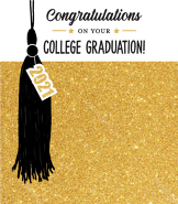 Sparkling College Graduation