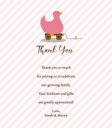 Pink Duck Thank You