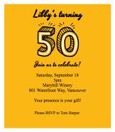 50 Invitation