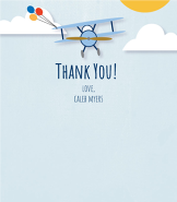 Airplane Thanks