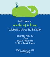 Whale Invitation