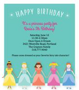 Princesses Invitation