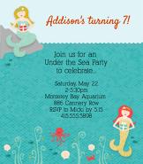 Mermaid Invitation